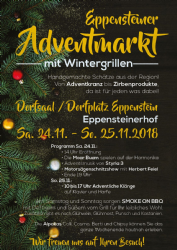 Steiermark Advent Zirbenland Eppensteiner Adventmarkt
